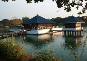 Tempio buddista - Colombo, Beire Lake