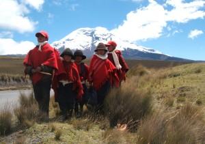 Bambini in Ecuador